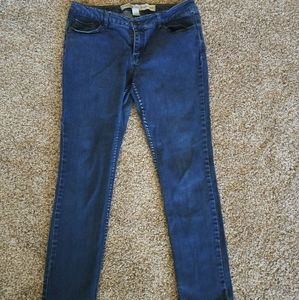 Womens Charlotte Russe Extreme Skinny Jeans 10S